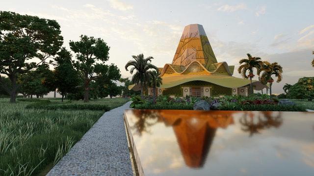 В этом году также был представлен проект национального Дома Поклонения бахаи, который будет построен в Республике Конго. Его дизайн вдохновлён традиционными произведениями искусства и строениями, а также природными особенностями страны. Дом Поклонения будет воплощать живой дух молитвы, который бахаи страны поддерживали в течение десятилетий.