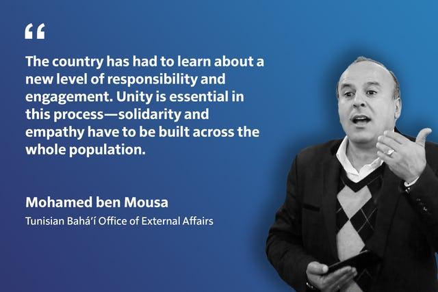«Жители нашей страны должны научиться брать на себя бóльшую ответственность и более активно участвовать в общественной жизни. Ключевое значение в этом процессе имеет единство — всё общество должно быть пронизано идеями солидарности и эмпатии».