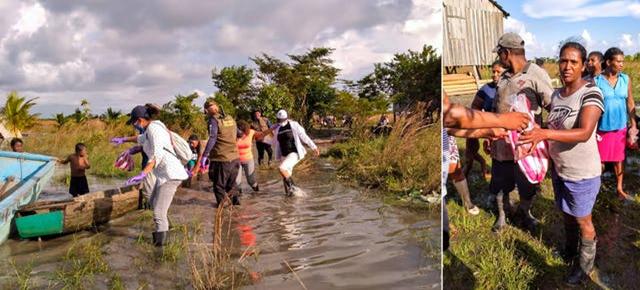 Сеть, созданная Комитетом по чрезвычайным ситуациям, сыграла важную роль в мобилизации людей и ресурсов.