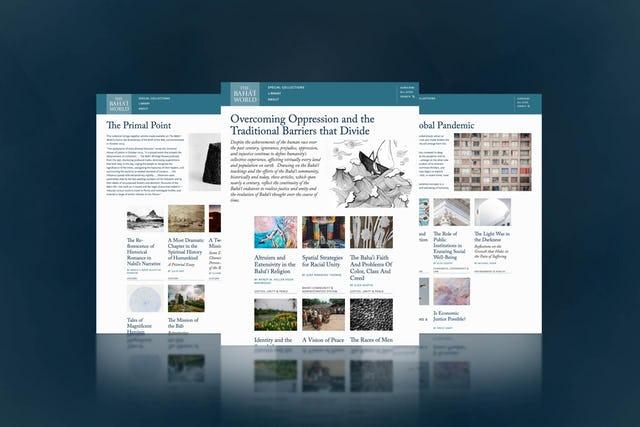 Веб-сайт «Мир бахаи» был расширен и теперь включает раздел «Архивы», в котором представлены тематически подобранные статьи.