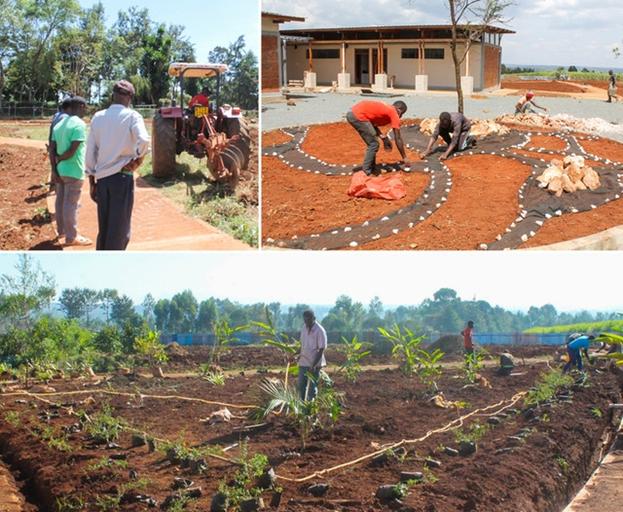 Жители Матунда-Сой, — фермерское сообщество с многолетним опытом работы на земле, и они с энтузиазмом взялись за благоустройство территории храма и уход за садами.