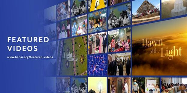 Обновления на сайте включают новый раздел под названием «Избранные видео», где посетители найдут тщательно подобранный контент, собранный со всех веб-сайтов семейства Bahai.org.