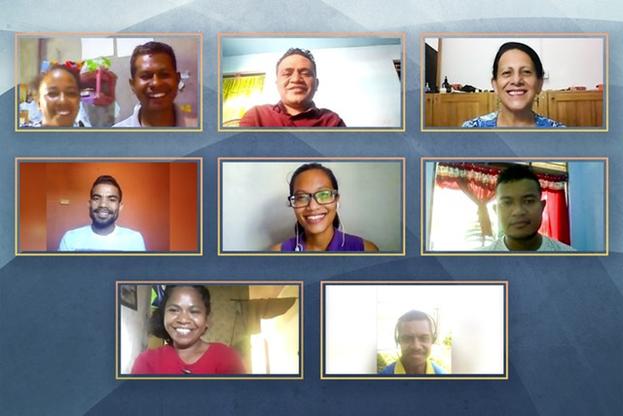 Девять членов недавно избранного Национального Духовного Собрания бахаи Восточного Тимора собрались онлайн на свою первую встречу.