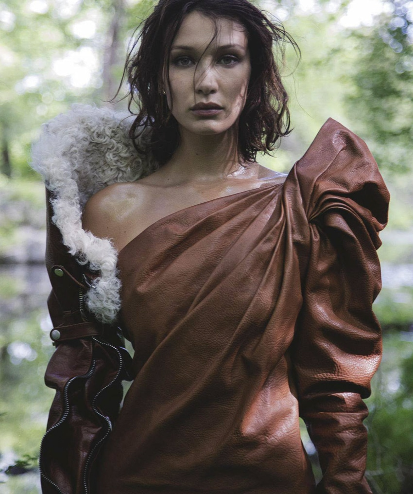 Bella Hadid by Jackie Nickerson for Vogue Australia September 2017