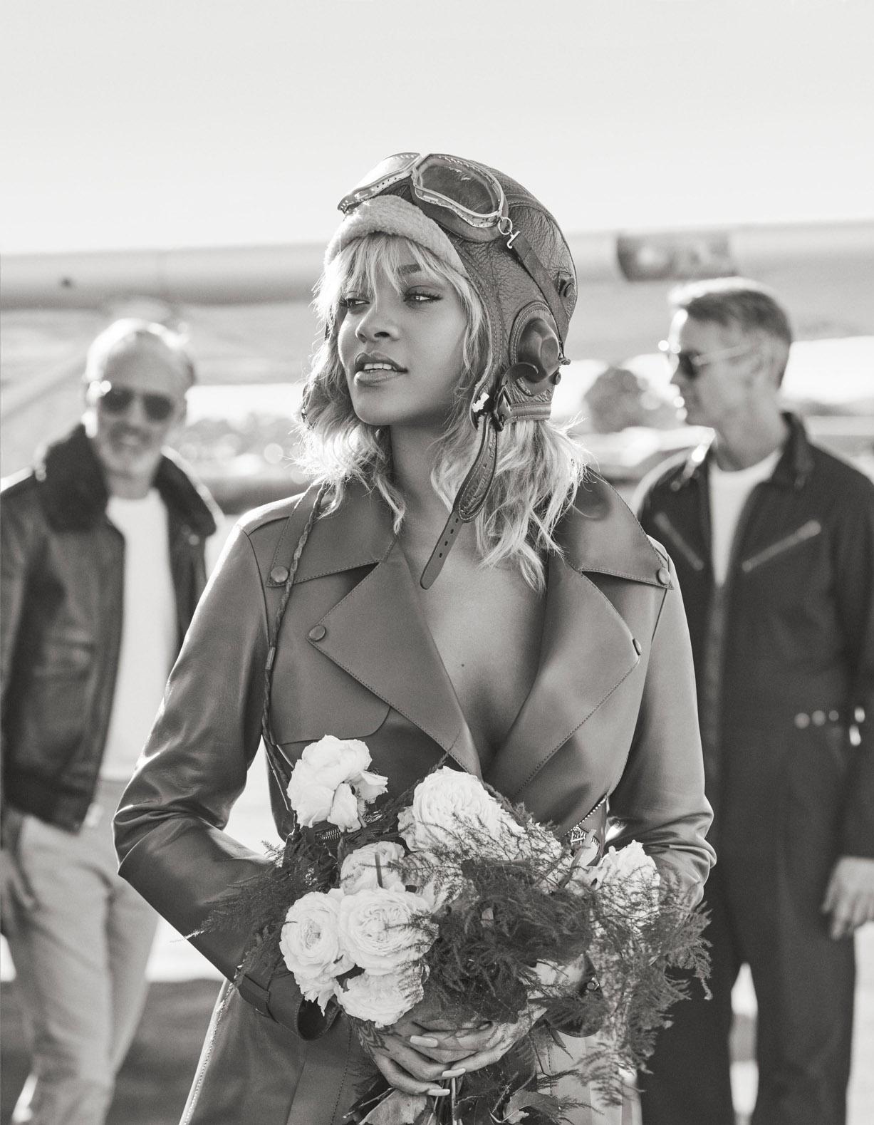 Летчица Рианна / Rihanna by Mariano Vivanco - Harper's Bazaar US march 2017