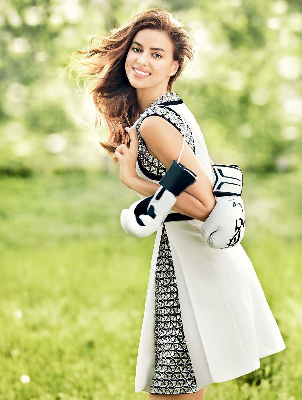 Ирина Шейк / Irina Shayk - Cosmopolitan China july 2014