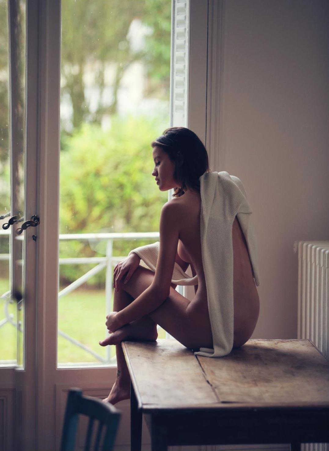 обнаженная Бьянка Михок / Bianca Mihoc nude by David Bellemere - Lui Magazine february 2017