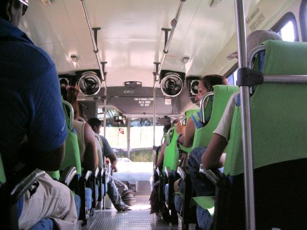 nice bus ride
