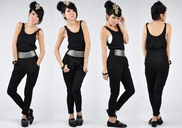 Black Studded Pants  (1)
