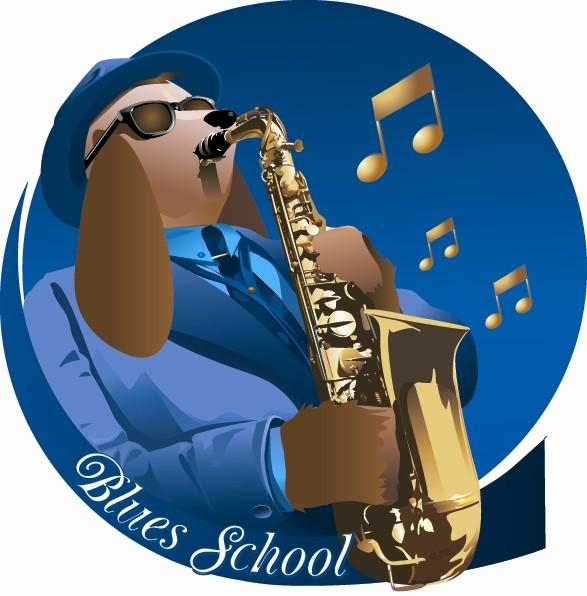 BluesSchoolDogCharlieBarker