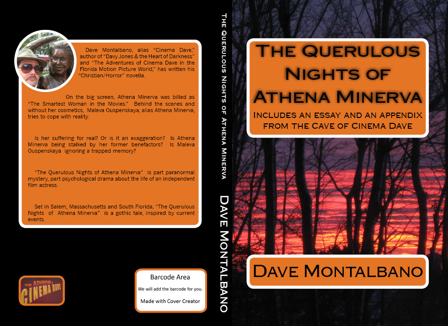 The Querulous Nights of Athena Minerva BOOK COVER