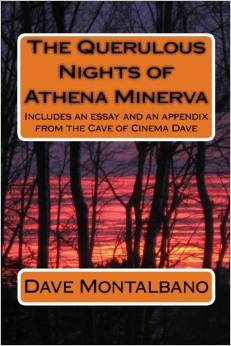 The Querulous Nights of Athena Minerva AMAZON book cover
