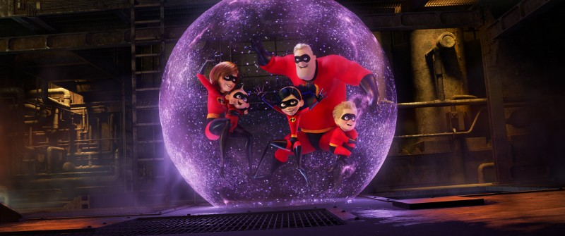 New films. The Incredibles 2