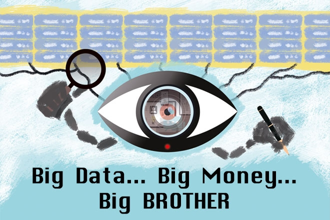 Big data = Big brother