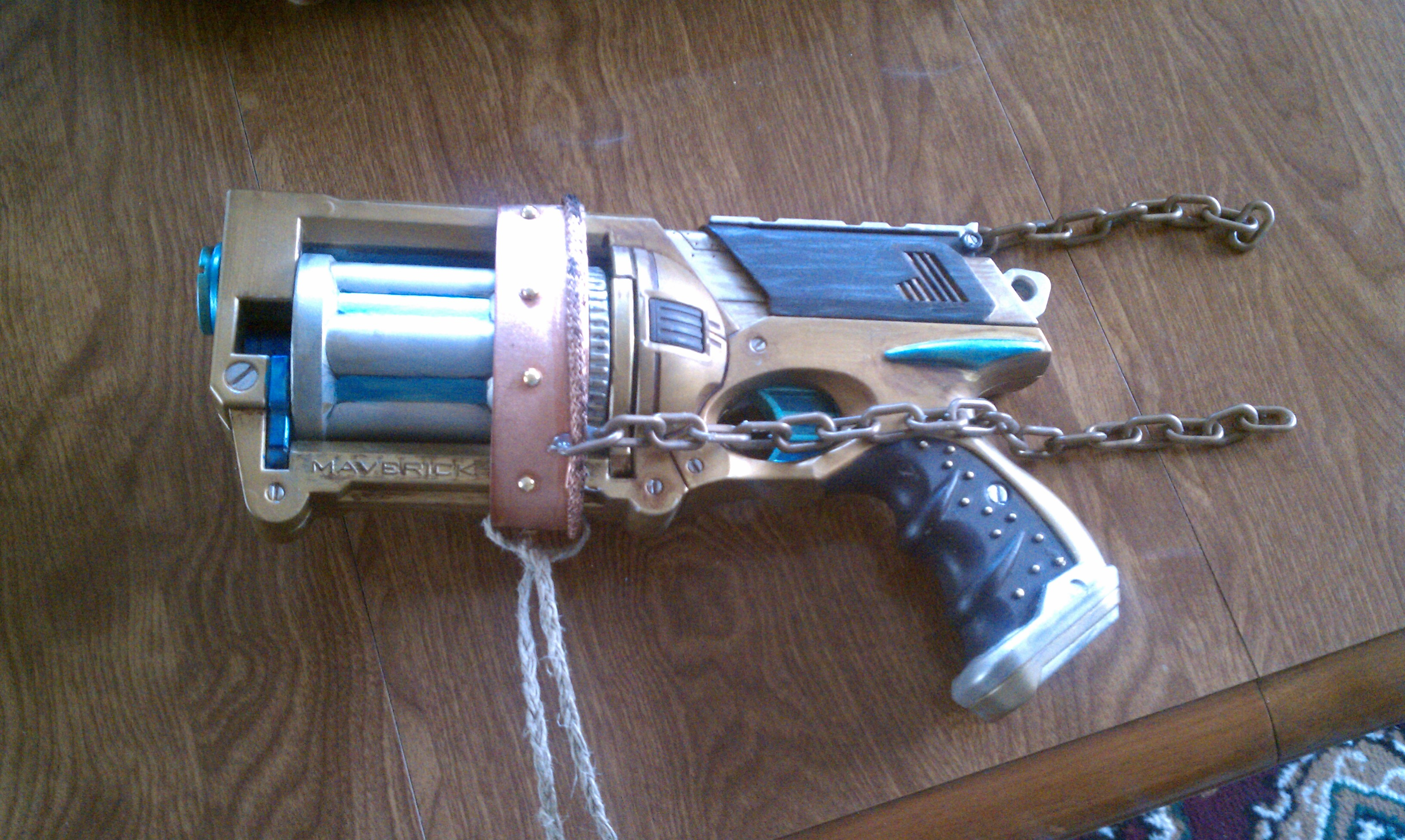 Nerf Holster Prototyp-1.5 by Leder-Joe ...