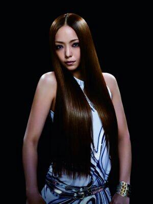Namie straight hair