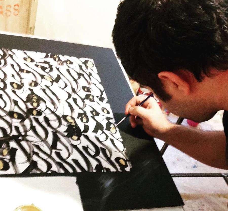 Foamboard Painting