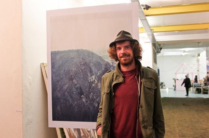 Герт, художник и работник галереи W139