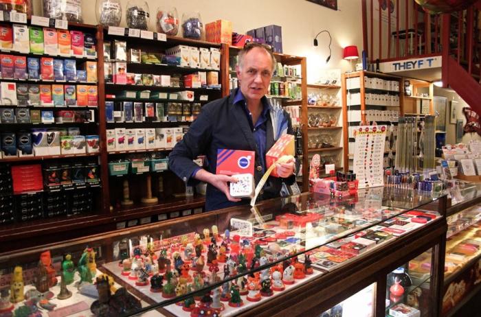Теодор, сооснователь магазина дизайнерских презервативов Condomerie