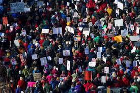 уличные протесты в Мэдисоне, штат Висконсин