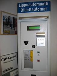 Lippuautomaatti Cale 102 MPC