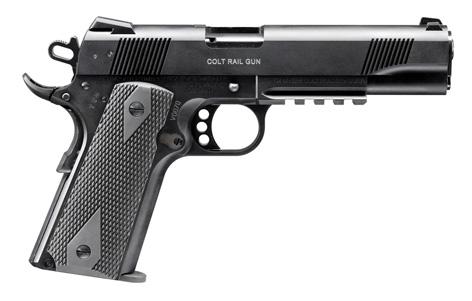 Colt 1911 Rimfire Rail Gun