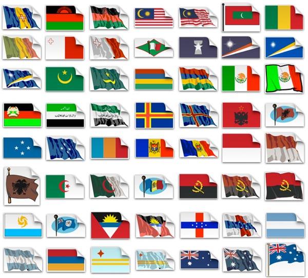флаги стран мира в картинках