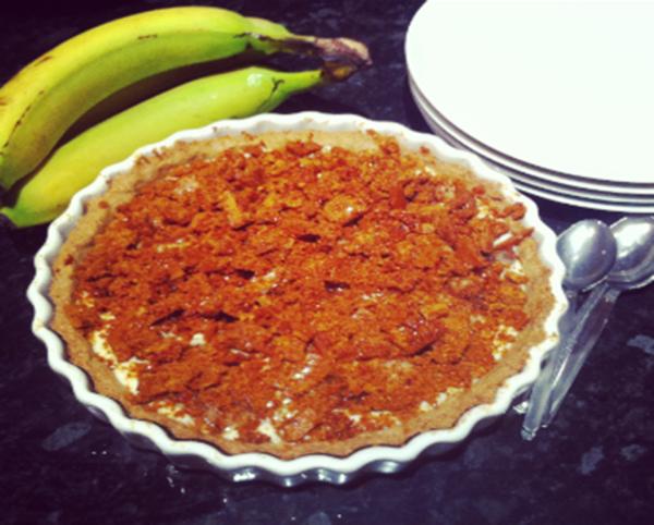 cinder banoffee pie