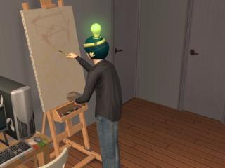Practicing art