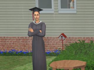 Anneliese's Graduation Pic