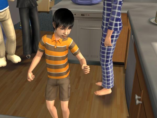Jian is a child!