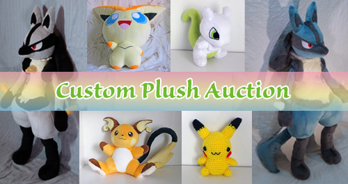 Custom Plush Auction
