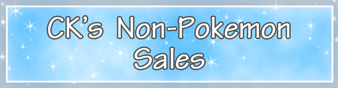 ck's non-pokemon sales