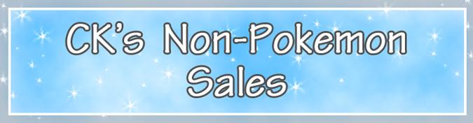 ck's non-pokemon sales