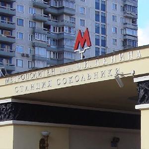 Логотип над Сокольниками