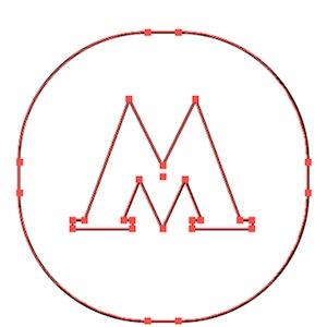 Новый логотип в векторе