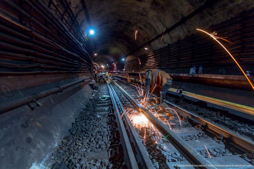 метро фото туннели