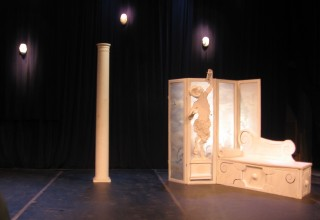 Theater set for MAGUS