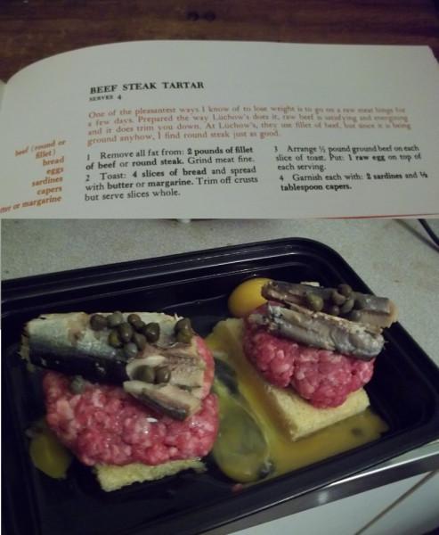 Beef Steak Tartare