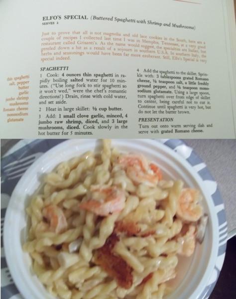 Pasta and Shrimp