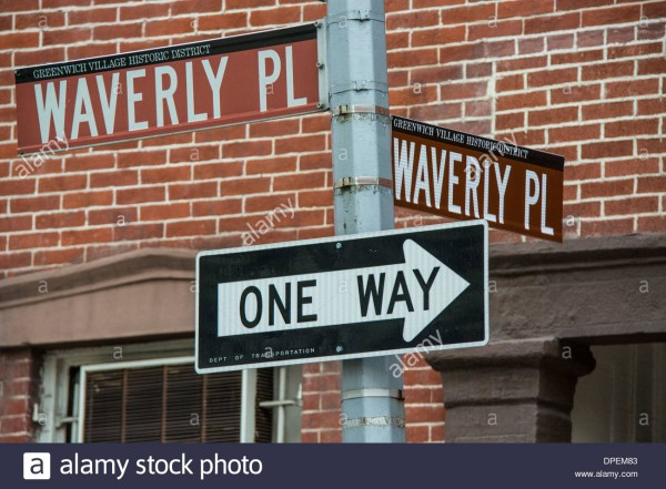 street-signs-at-the-corner-of-waverly-place-and-waverly-place-in-greenwich-DPEM83