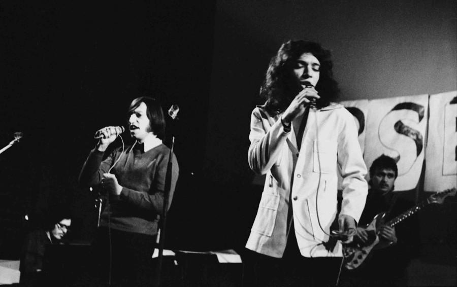 Вернисаж выставки рок-фотографий 1970-х