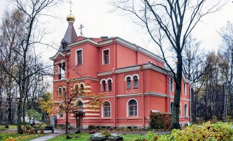 Церковь Спаса Преображения на Лесном