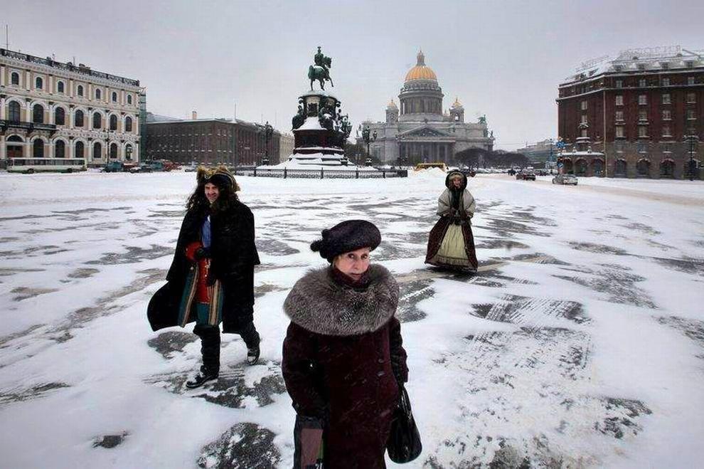 Петербуржская зима
