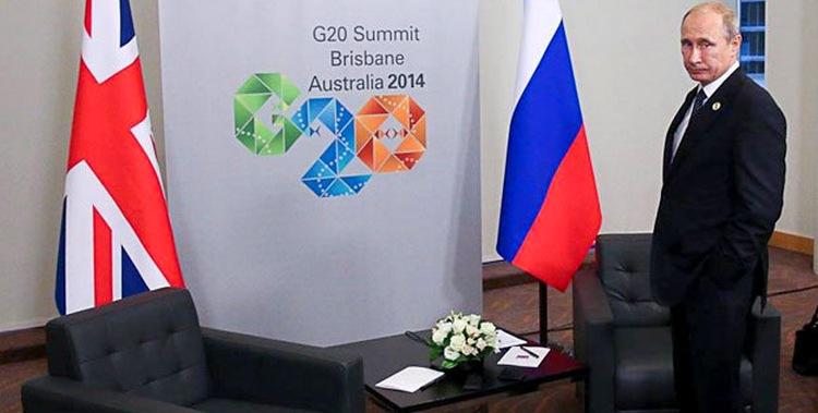 Путин сбежал с саммита G20