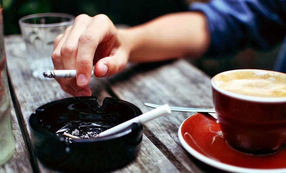 Кофе без сигареты - деньги на ветер!