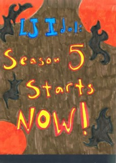 Betty Baker's poster announcing that LJ Idol: Season 5 starts now!