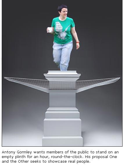me on anthony's plinth
