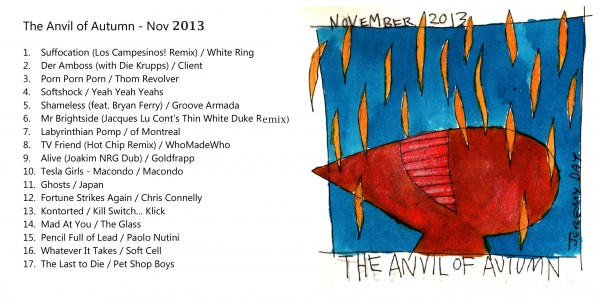 The anvil of autumn - November