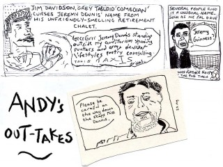 outtakes from andy's strip about me